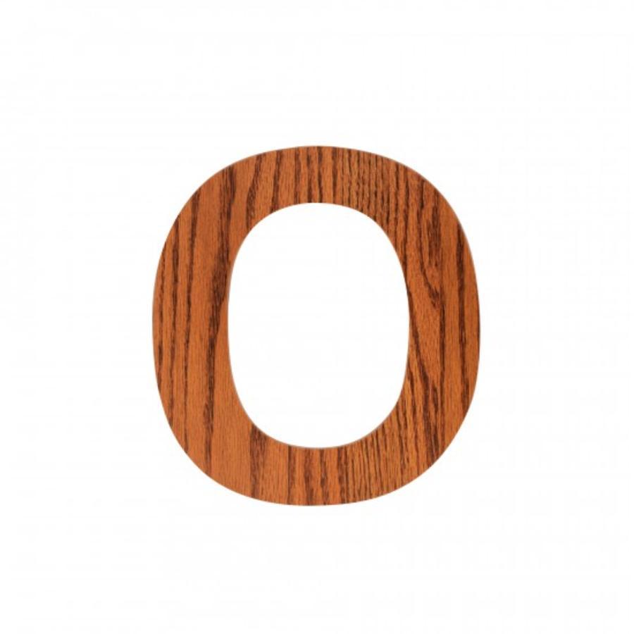 SEBRA 0, Holz Buchstabe