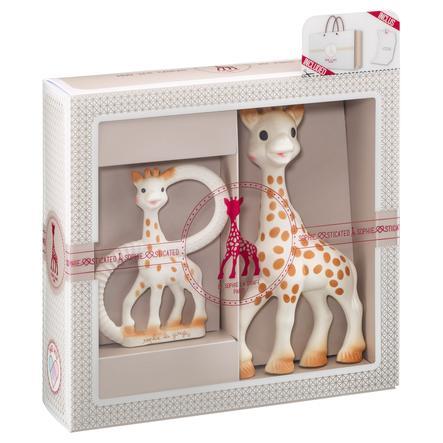 Vulli Dárkový set se žirafou, kousátkem a blahopřáním