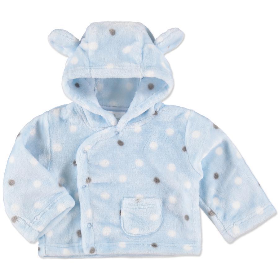 EDITION4BABYS Veste enfant cashmere flanelle bleu