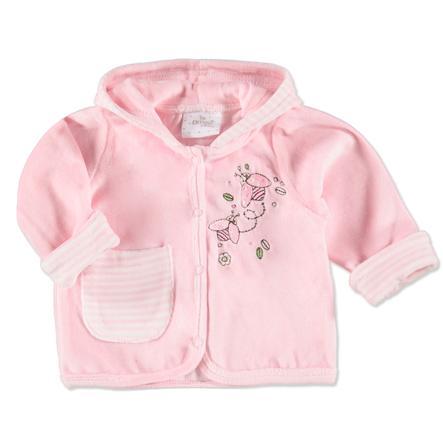 EDITION4BABYS Baby Coralfleece - Jasje in gebroken wit