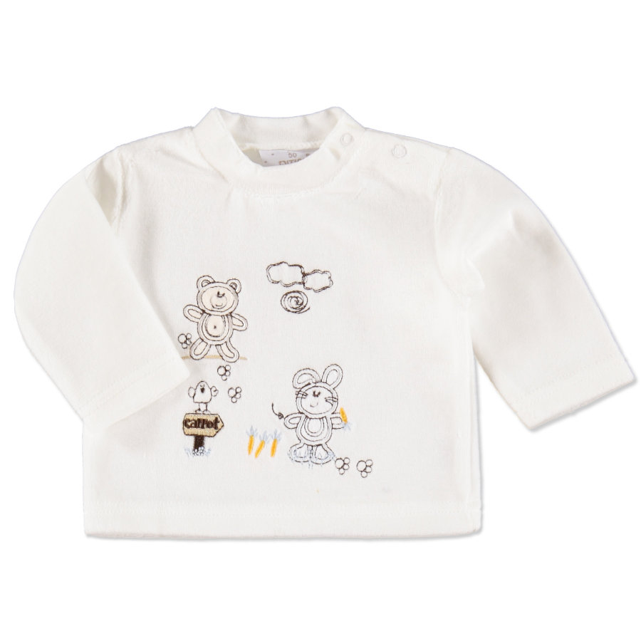 EDITION4BABYS Langarmshirt Nicky offwhite