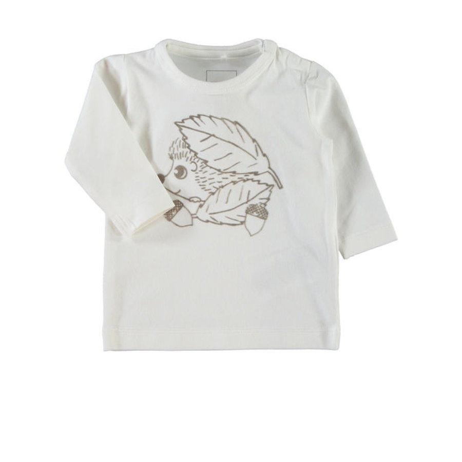 NAME IT T-shirt à manches longues bébé NITUG, cloud dancer