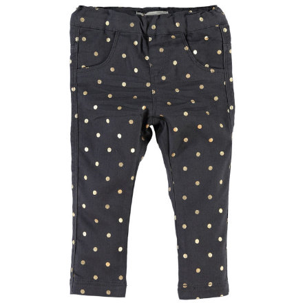 NAME IT Girls Mini Leggings NITOTAMMY asphalt