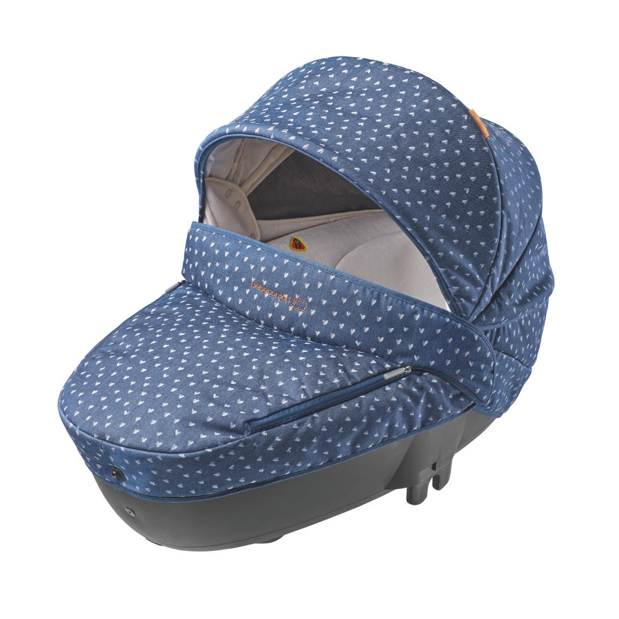 Bébé Confort Tragewanne Windoo plus DENIM HEARTS (Babyschale 0 - 13 kg)