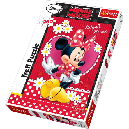 "LEGLER ""Minnie myška"" - Puzzle 260 dílů"