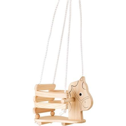 small foot design® Balançoire Cheval, bois