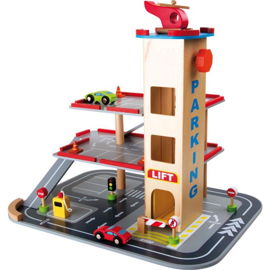 LEGLER Parkovací dům, dřevěná rampa