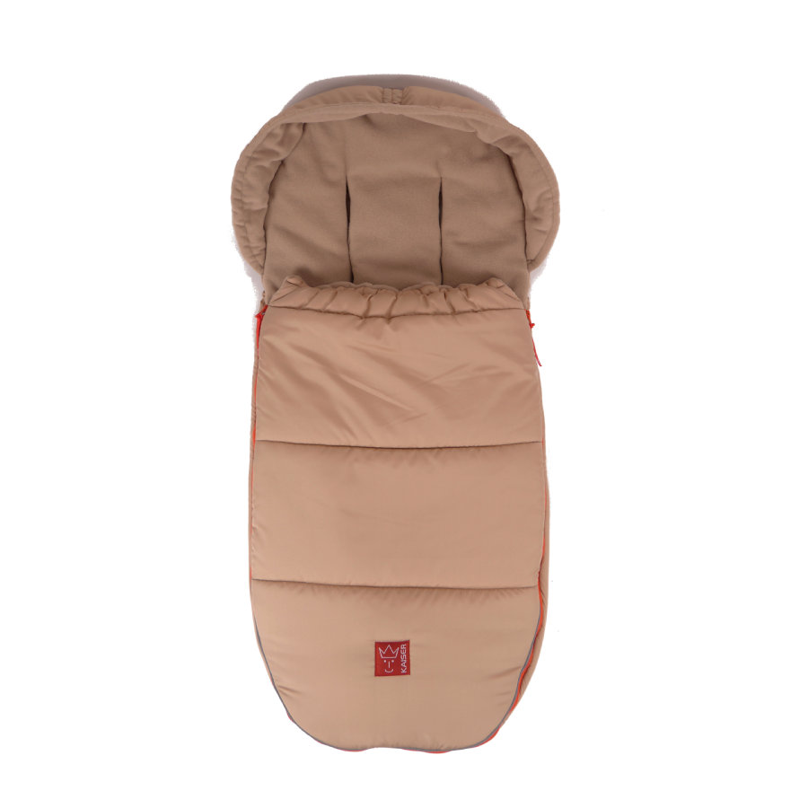 Kaiser Fußsack Thermo-Fleece Louis sand