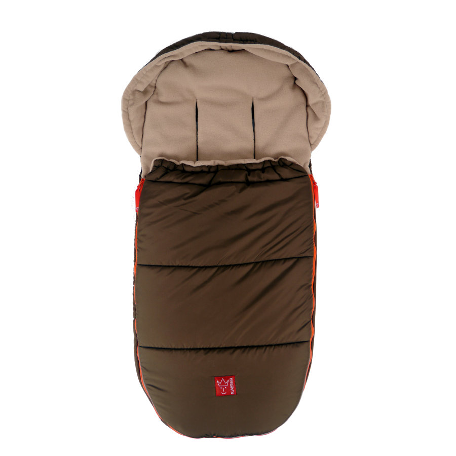 Kaiser Fußsack Thermo-Fleece Louis braun