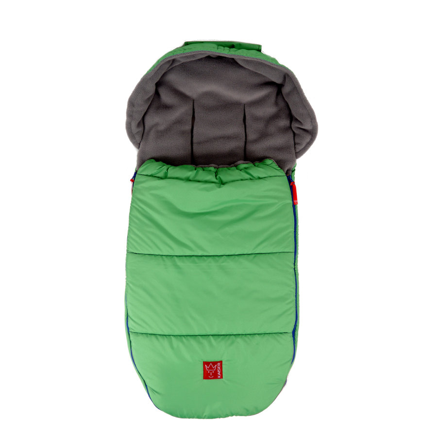 Kaiser Fußsack Thermo-Fleece Louis grün