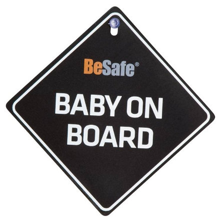HTS BeSafe Baby on Board Sign