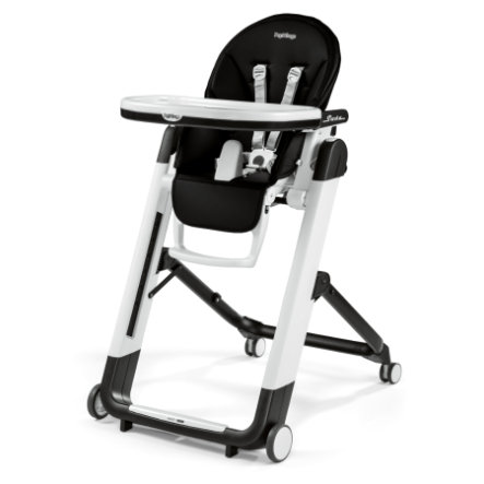 PEG-PEREGO Kinderstoel Siesta Licorice (Lederimitaat)