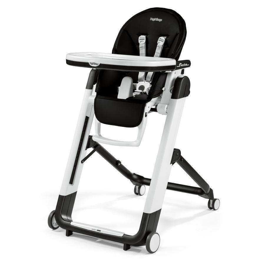PEG-PEREGO Jídelní židlička Siesta Licorice (napodobenina kůže)