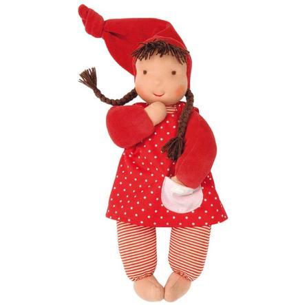 KÄTHE KRUSE Panenka, červená 35 cm