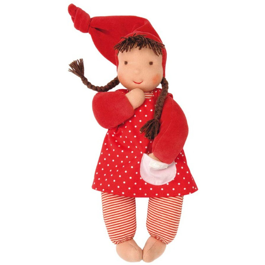 KÄTHE KRUSE Lalka Schatzi, kolor czerwony 35 cm