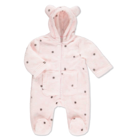 EDITION4BABYS Soft Flanell Overall rose