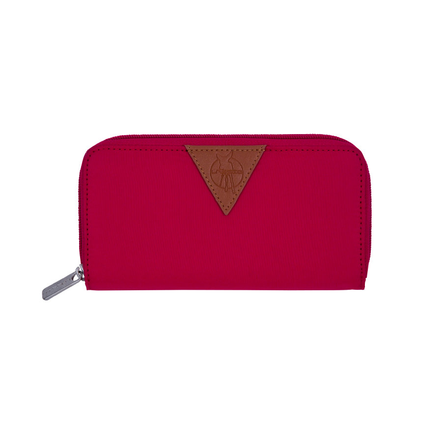 LÄSSIG Plånbok Glam Signature Wallet red