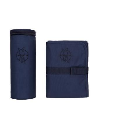 LÄSSIG Accessoires de sac à langer Glam Signature Bag, bleu marine