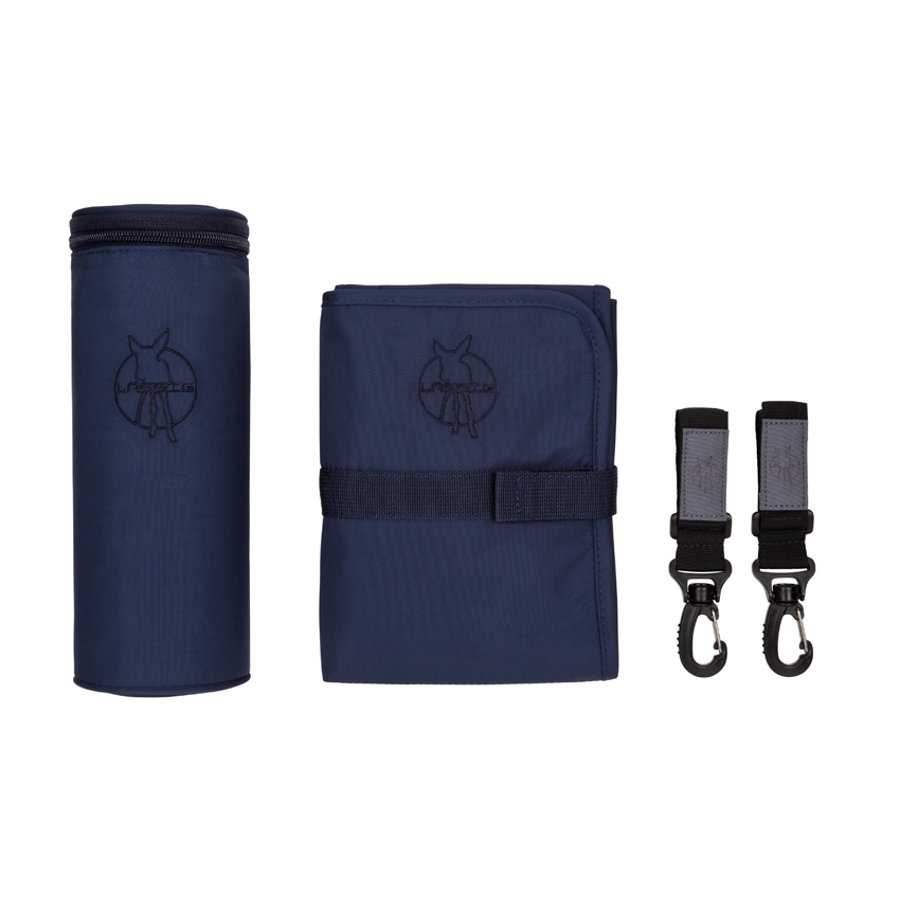 LÄSSIG Wickeltasche Glam Signature Bag Accessories navy