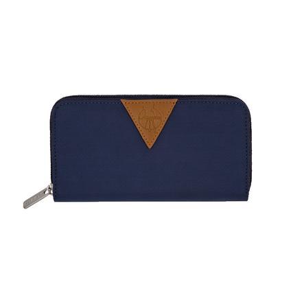 LÄSSIG Porte-monnaie Glam Signature Wallet, bleu marine