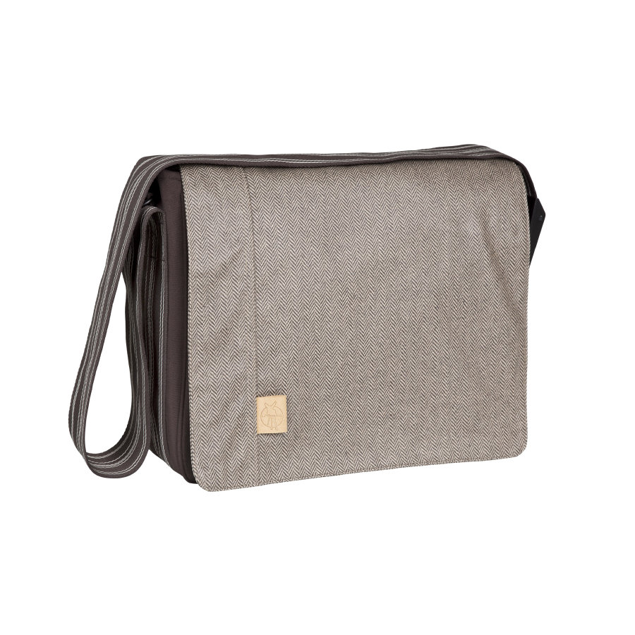 LÄSSIG Sac à langer Messenger Bag Casual Twill choco