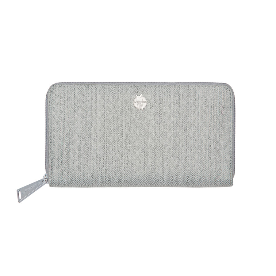 LÄSSIG Porte-monnaie Green Label Mix 'n Match Wallet, gris clair