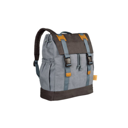LÄSSIG Wickeltasche Vintage Little One & Me Backpack big grey