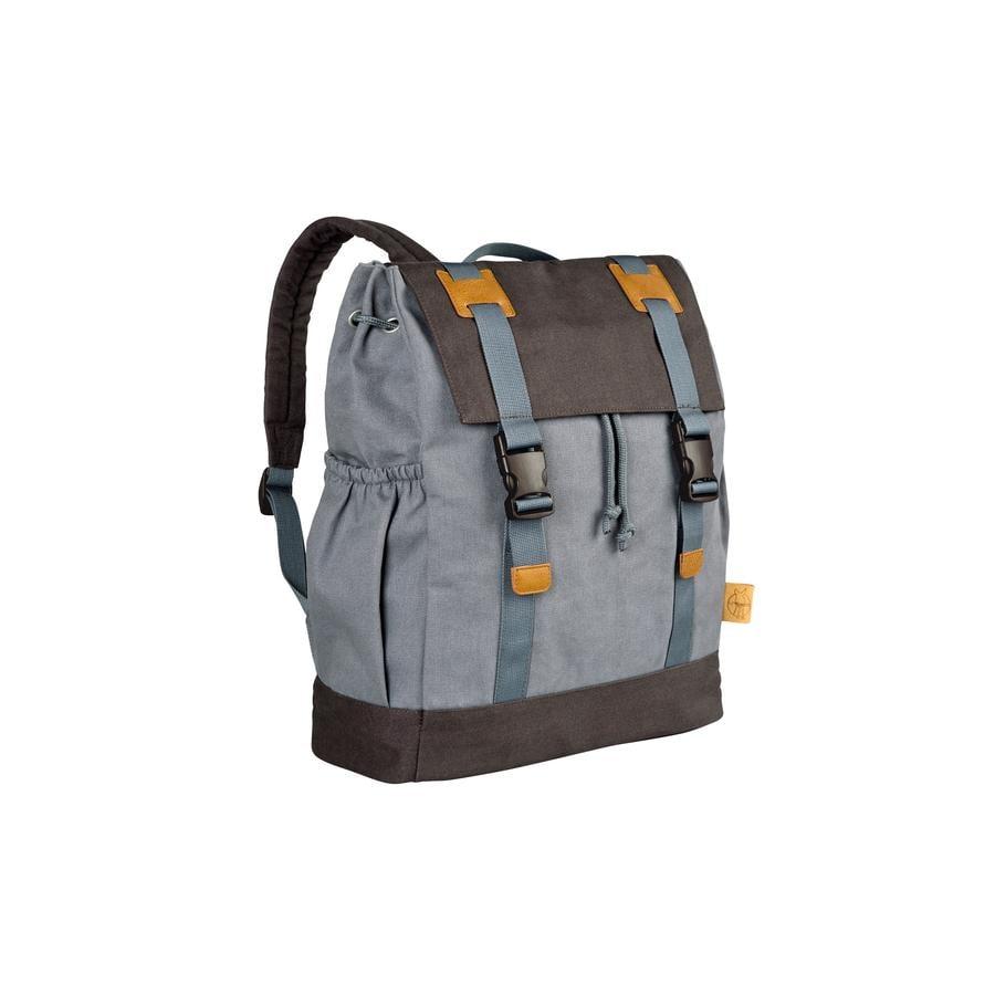 LÄSSIG Borsa fasciatoio a zaino Vintage Little One & Me Backpack big grey