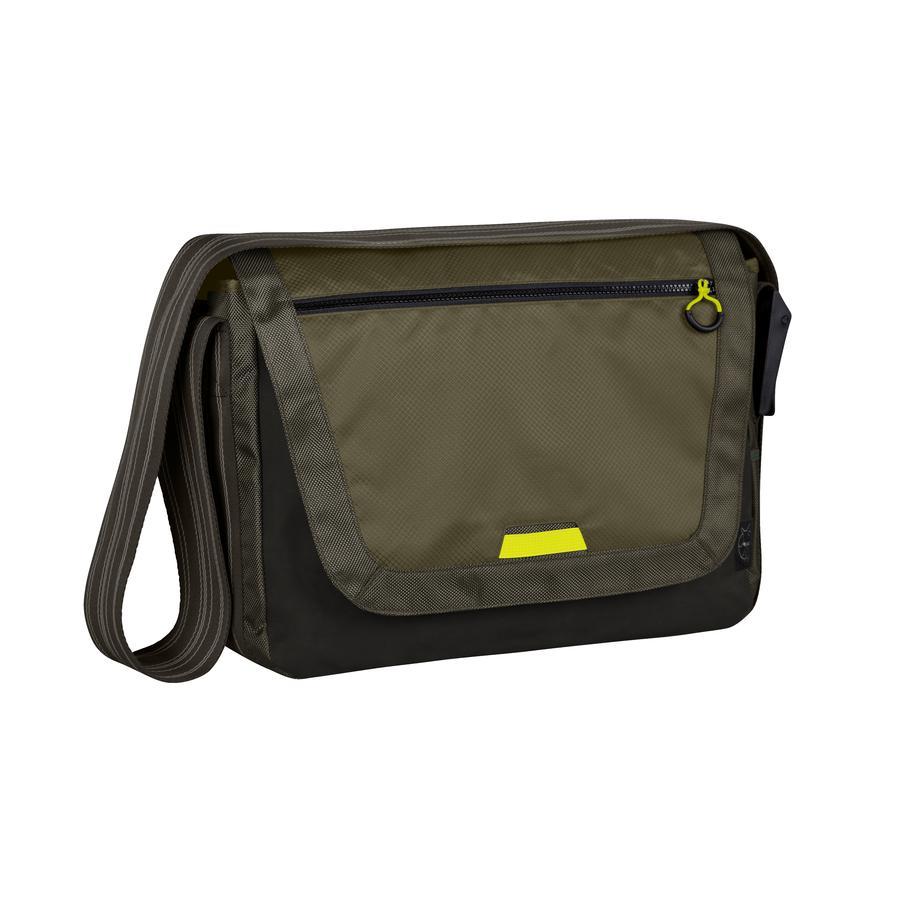 LÄSSIG Borsa fasciatoio Casual Sporty Messenger Bag olive