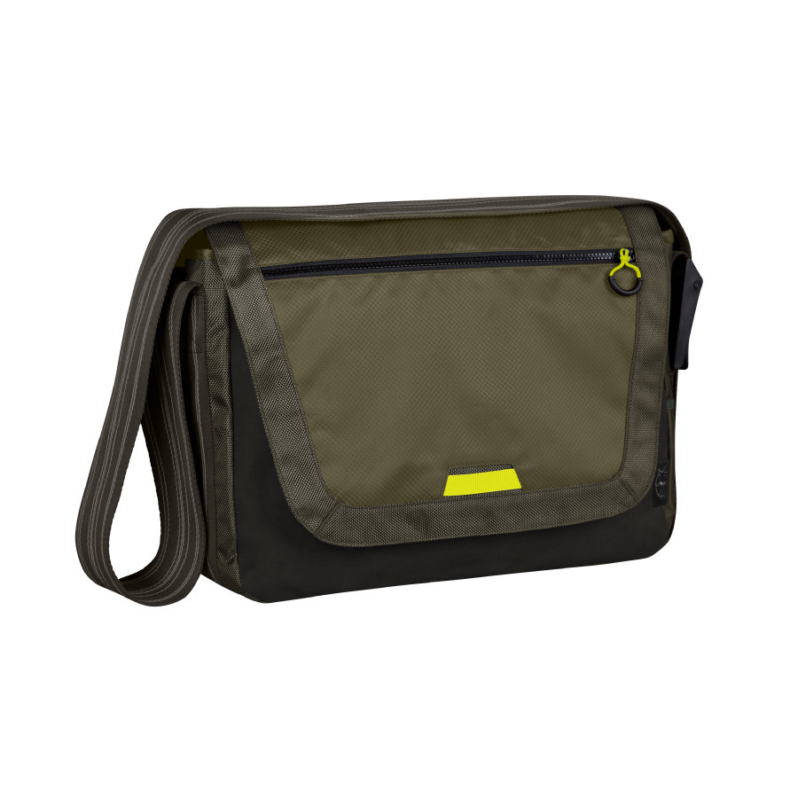 LÄSSIG Wickeltasche Casual Sporty Messenger Bag olive