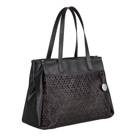 LÄSSIG Borsa fasciatoio Tender Tote Bag black