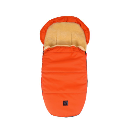 KAISER Lammfellfußsack LENNY medi super light orange
