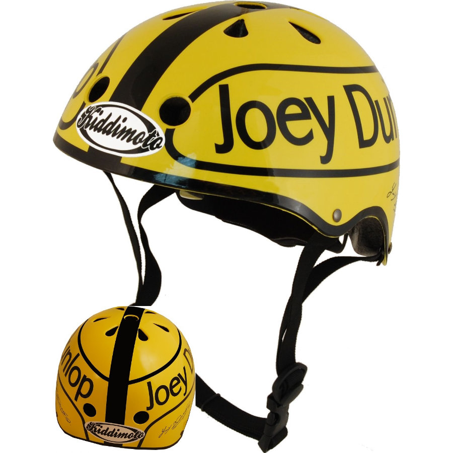 kiddimoto® Hjelm Limited Edition Hero, Joey Dunlop - Gr. M, 53-58cm