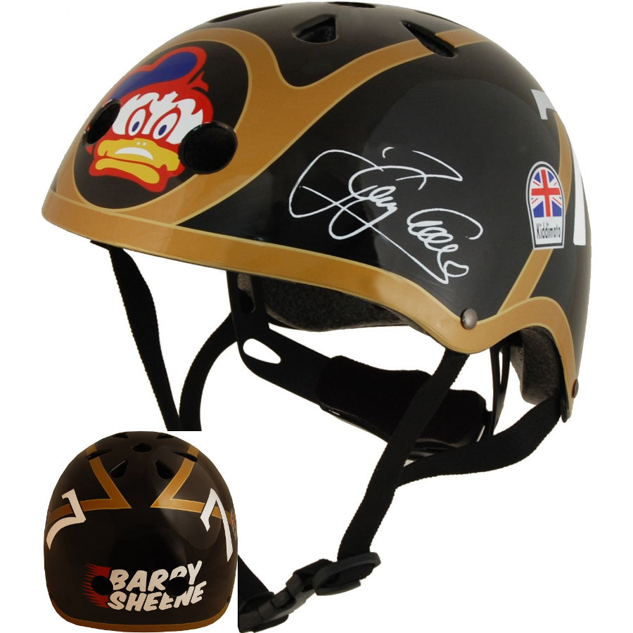 kiddimoto® Kask ochronny Limited Edition Hero, Barry Sheene - rozm. M, 53-58cm