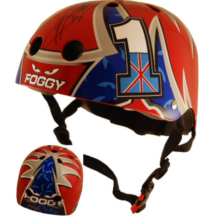 kiddimoto® Helma Limited Edition Hero, Carl Fogarty - vel. M, 53 - 58 cm