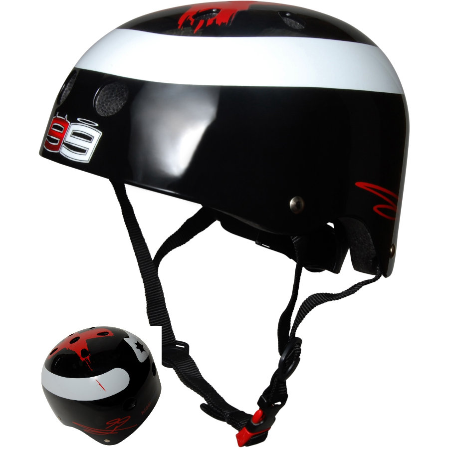 kiddimoto® Helm Limited Edition Hero, Jorge Lorenzo - Gr. M, 53-58cm