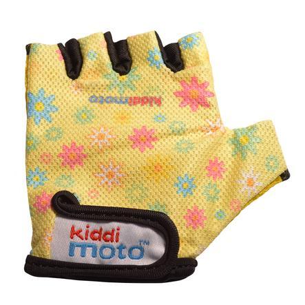 kiddimoto® Rukavice Design Sport, květinové dítě - M