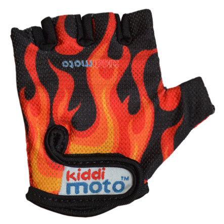 kiddimoto® Rukavice Design Sport, Flames - S