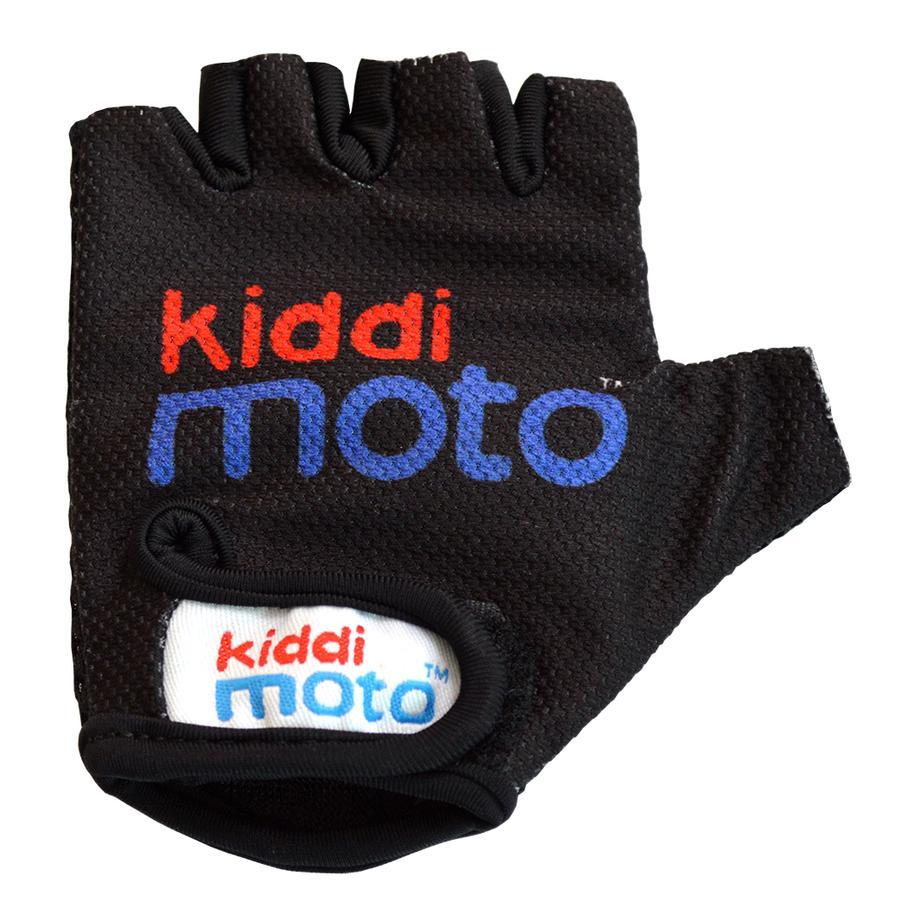 kiddimoto® Rukavice Design Sport, černé - S