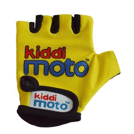 kiddimoto® Rukavice Design Sport, neonově žluté - M