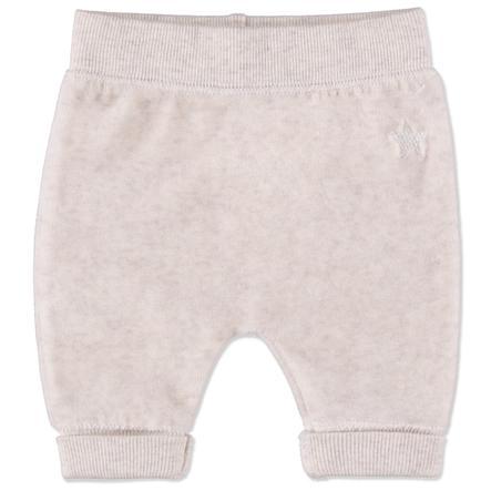 Staccato Girls Baby Spodnie plusz cream melange