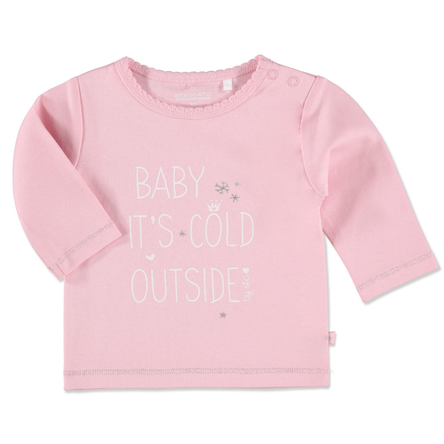 Staccato Girls Baby Shirt rosy