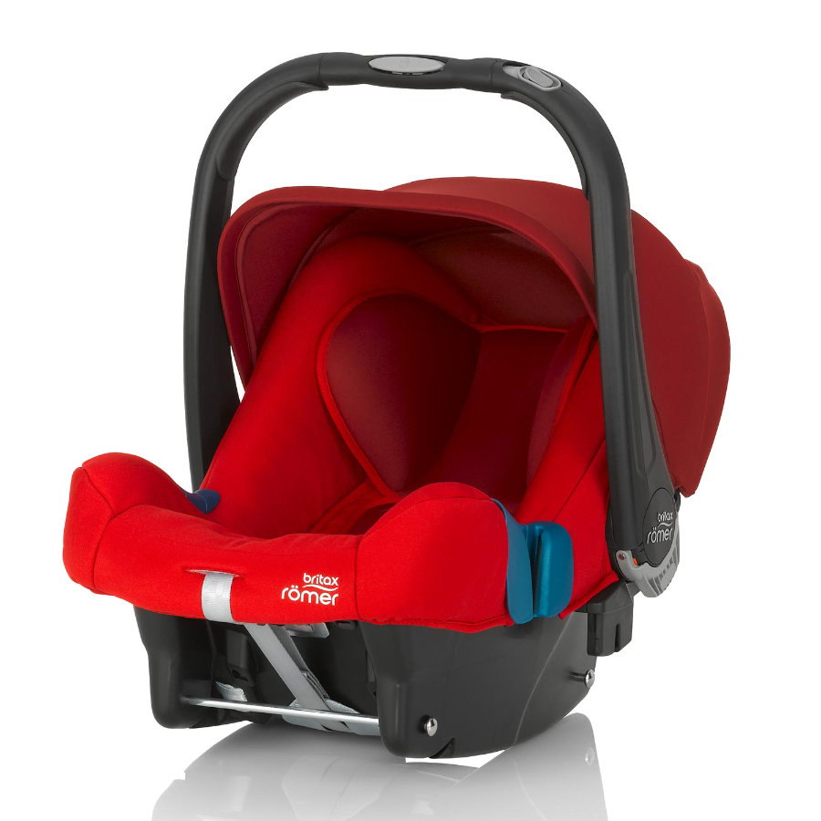 BRITAX Römer Baby-Safe Plus SHR II 2016 Flame Red