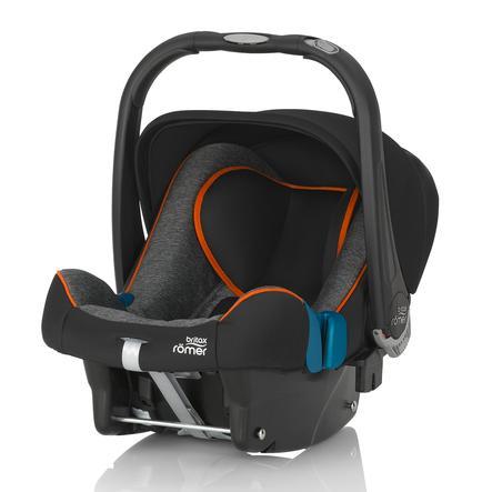 BRITAX RÖMER Seggiolino auto Baby-Safe Plus SHR II Black Marble, nero