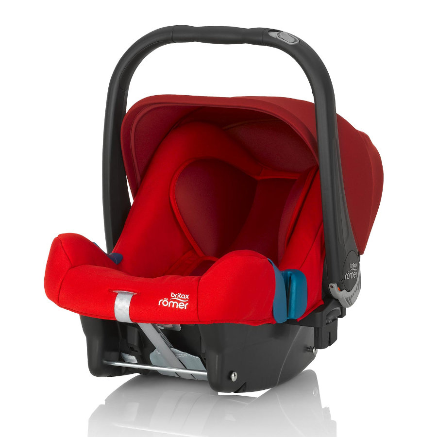 Britax Römer Babyschale Baby-Safe plus II Flame Red