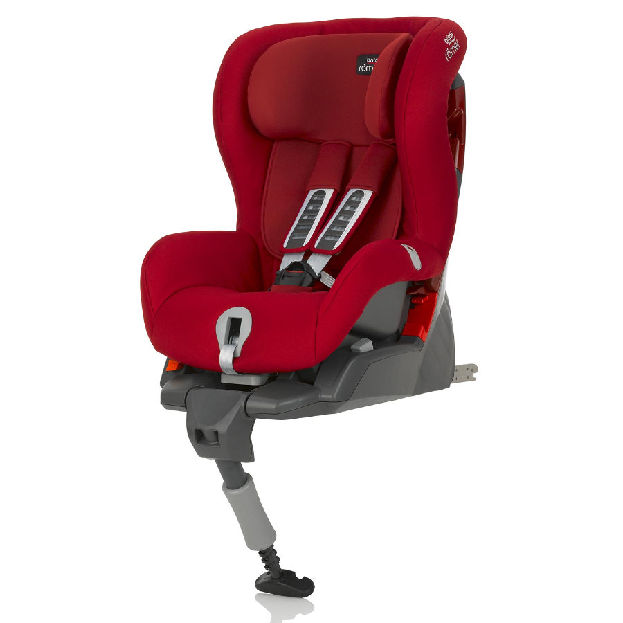 BRITAX Bilbarnstol Safefix Plus Flame Red