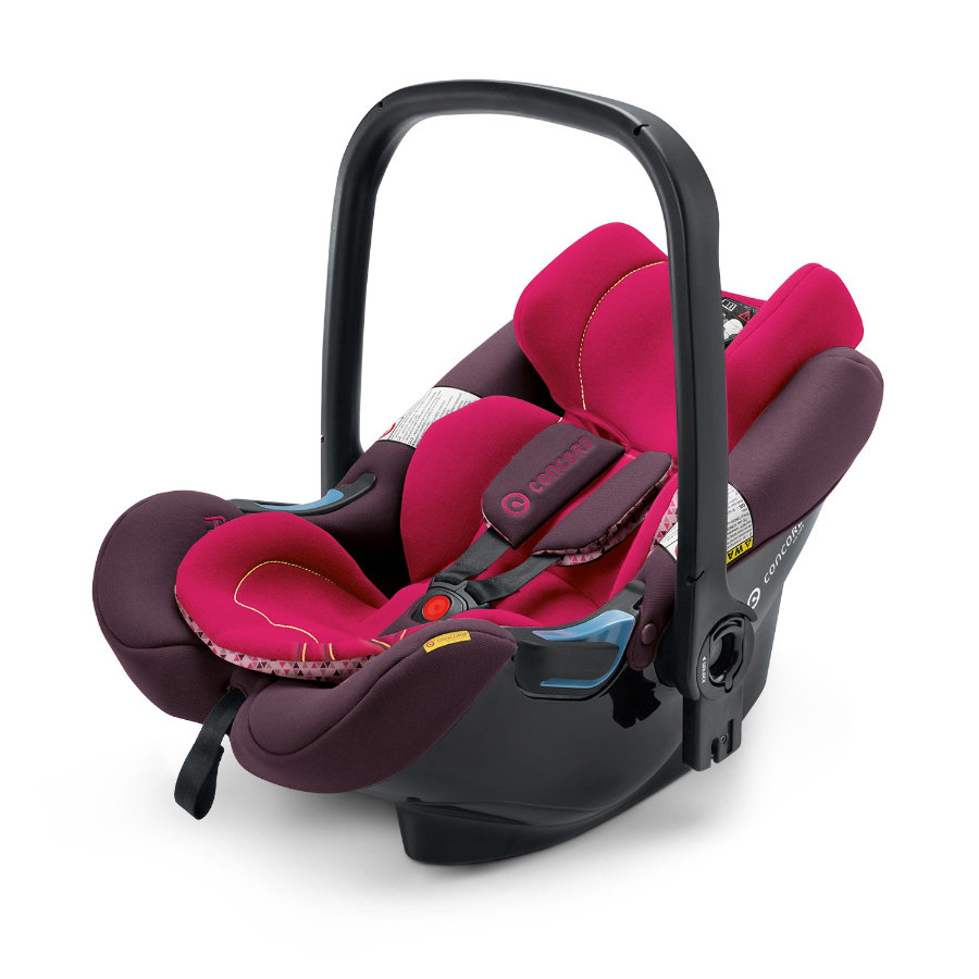 CONCORD Autostoel/Reiswieg Air.Safe + Clip Rose Pink