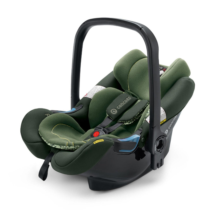 CONCORD Babyschale Air.Safe inklusive Clip Jungle Green Limited Edition