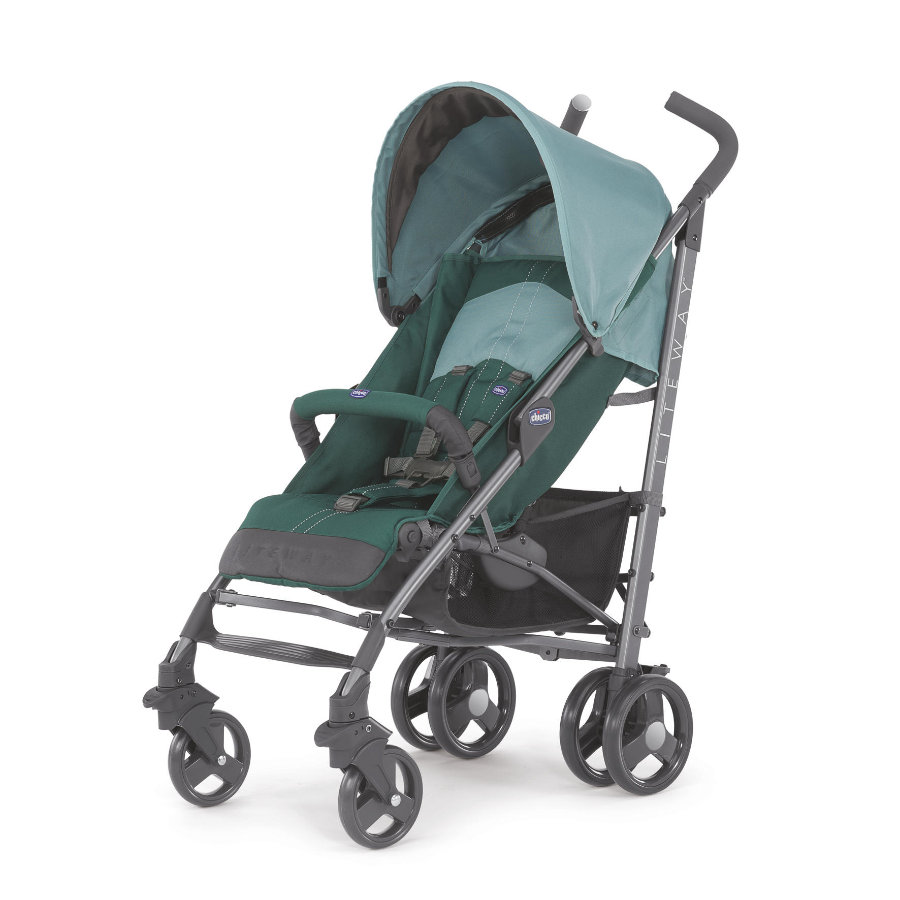 chicco Poussette sport Lite Way Green, arceau pliable