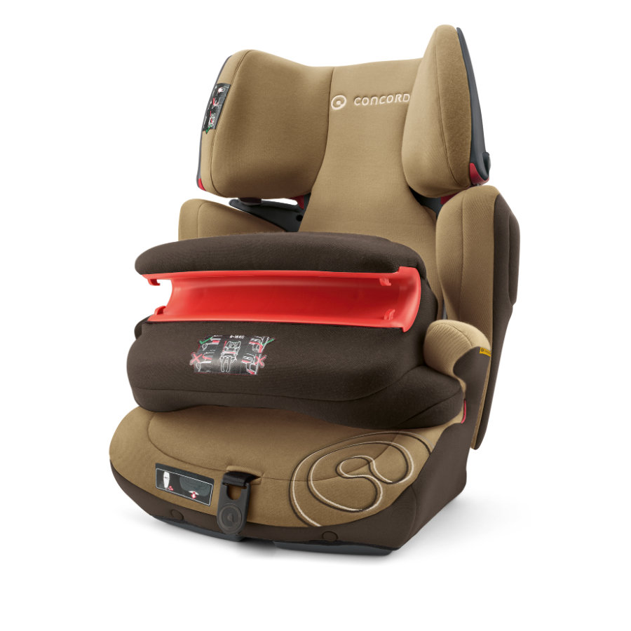 CONCORD Autostoel Transformer Pro Walnut Brown